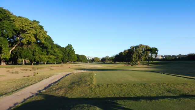 The 15th tee at Royal Queensland Golf Club