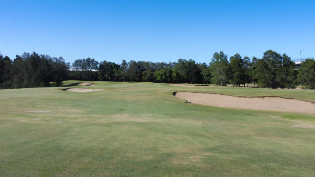 The 2nd fairway at Royal Queensland Golf Club