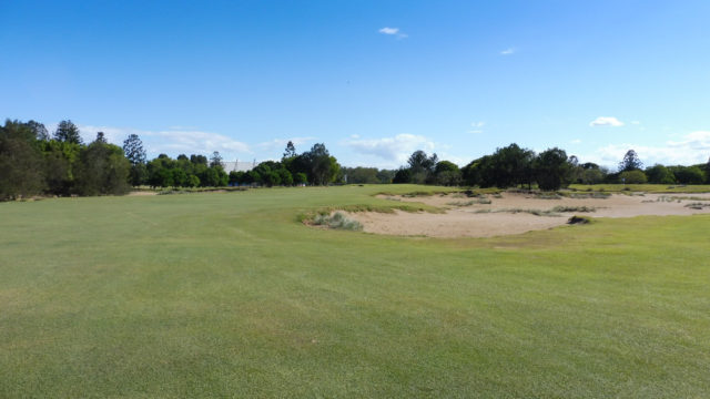 The 3rd fairway at Royal Queensland Golf Club