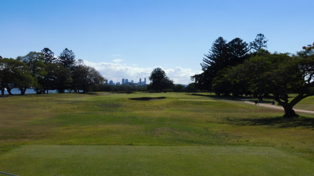 The 5th tee at Royal Queensland Golf Club