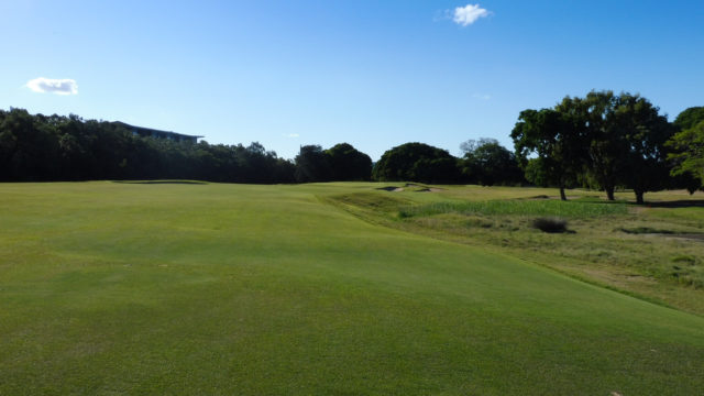 The 7th fairway at Royal Queensland Golf Club