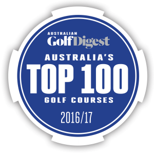 Logo for Australian Golf Digest Top 100