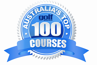2014 logo for Golf Australia Magazine Top 100