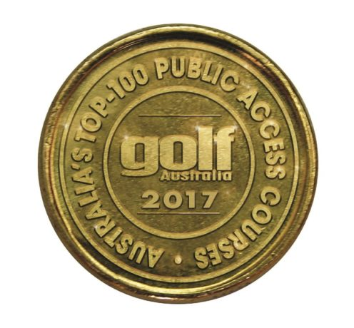2017 Public Top 100 Logo for Golf Australia Magazine
